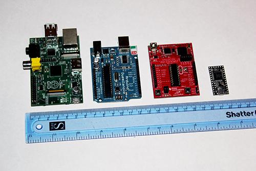 Teensy launchpad arduino and raspberry pi