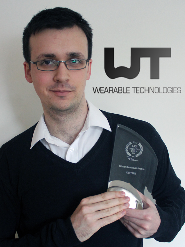 wearable technology award_ceo vision will powell keytree