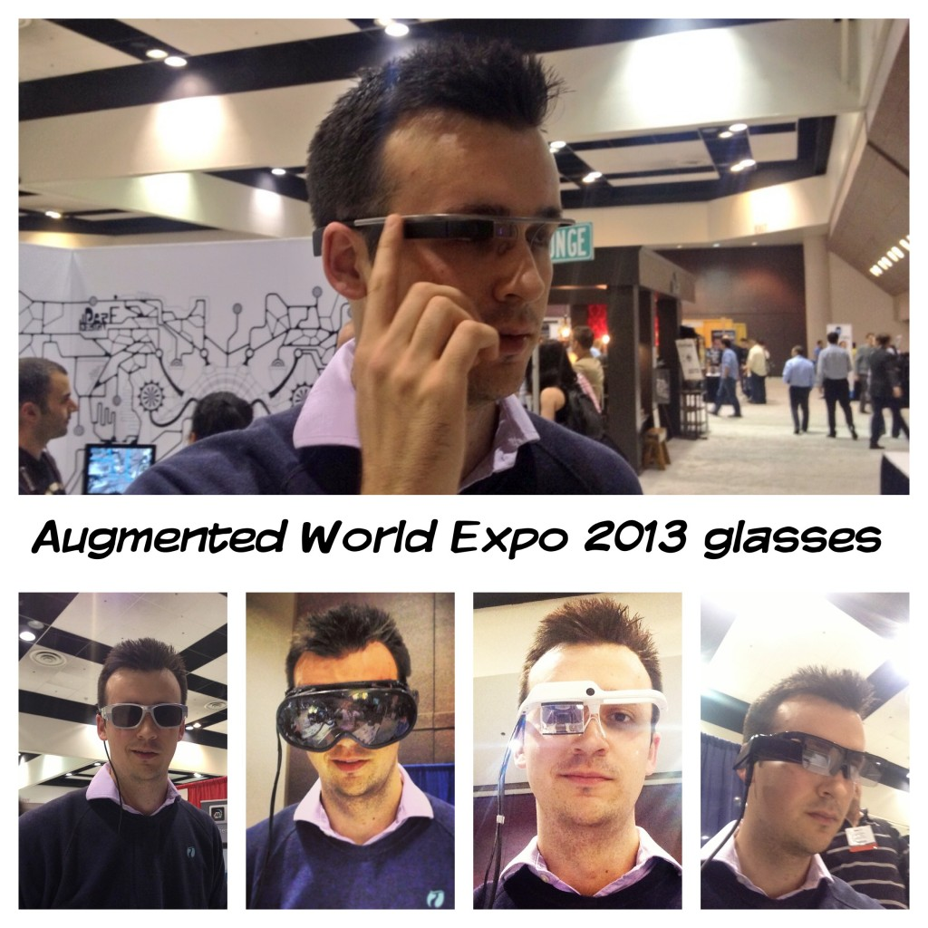 Augmented World Expo 2013 Glasses - Will Powell