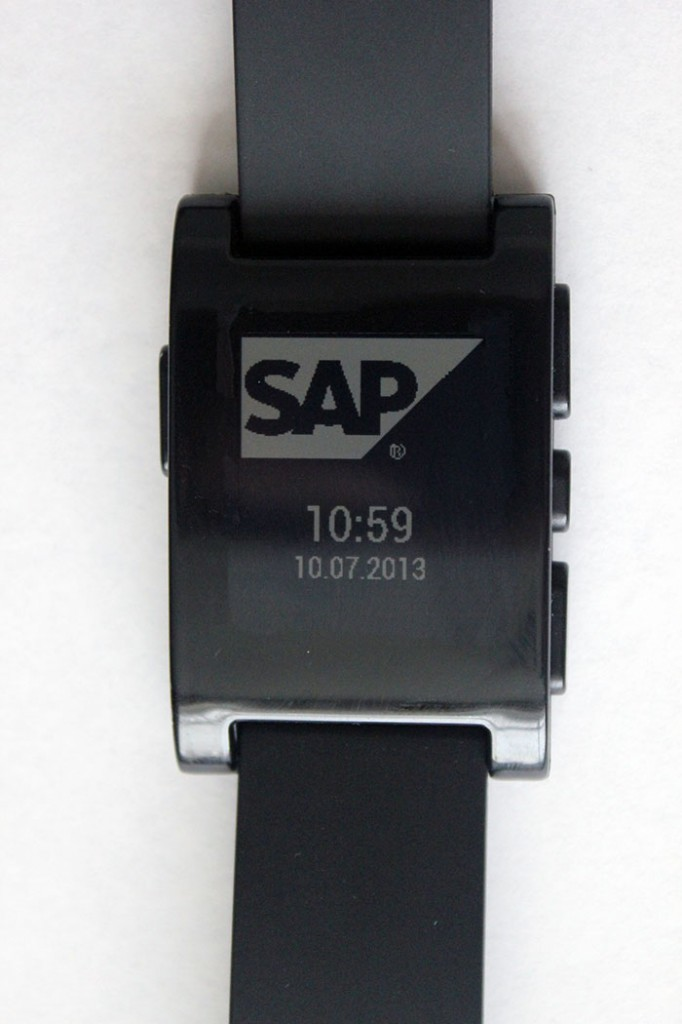SAP Pebble Fan Design Watch